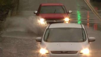 Rescates tras inundaciones por fuertes tormentas
