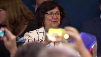 Lupe Valdez agradecida con sus votantes