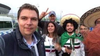 Mexicanos en San Petersburgo