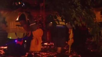 Multiples personas rescatadas en Everman