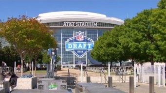 El estadio AT&T se prepara para el NFL Draft 2018