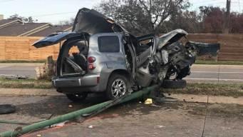Estudiantes heridos tras aparatoso accidente en Dallas