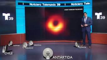 Confirman la existencia de los agujeros negros