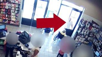 Sospechoso de robo en varias tiendas del Metroplex