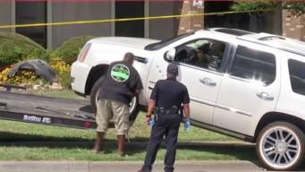 Garland: Hispano víctima de posible caso de furia al volante