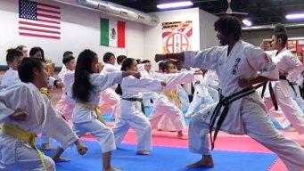 Karate en la comunidad de Oak Cliff