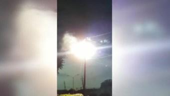 Residentes en Dallas atemorizados por explosiones en cable