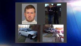 Policía: Robo en tienda termina con persecución en Richardson