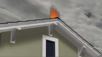 ¿Por qué un rayo es capaz de causar un incendio?