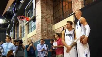 Día de medios con los Dallas Mavericks