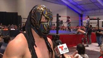 Emoción por lucha libre mexicana en Fort Worth