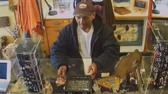 Buscan a presunto ladrón de joyas en Fort Worth