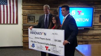Telemundo 39, NBC 5 y NBC Universal Foundation realizan donativo