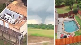 El recuento: Tornados, tormentas y daños en el norte de Texas