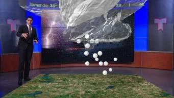 ¿Verá el norte de Texas tormentas en la noche o mañana?