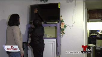 Compró televisor en popular tienda pero le salió dañado