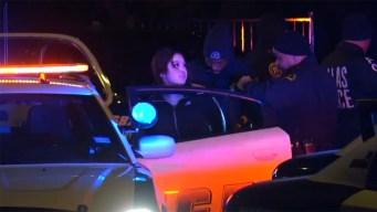 Persecución policial en Dallas termina con arrestos