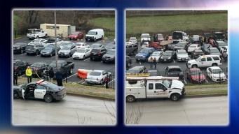 En Fort Worth: camión chocó contra 22 autos