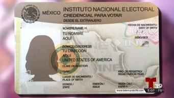 Regístrese para votar en la elección presidencial de México