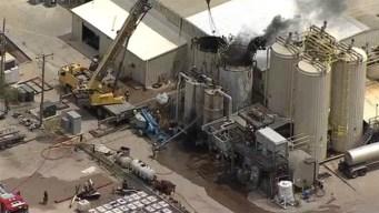 Explosión en planta de Ennis deja un herido