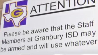 Distrito escolar texano permite armas en las escuelas