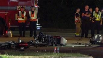 Muere motociclista tras chocar en Grand Prairie