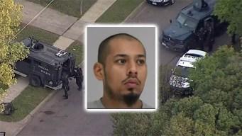 Intentó escapar del helicóptero de la policía de Dallas