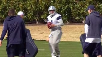 Telemundo 39 rumbo al partido de Cowboys vs Rams