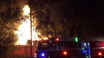 Tres incendios en el Metroplex