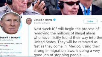 Trump anuncia deportaciones masivas