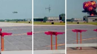 Dramático video del accidente de avión en Addison