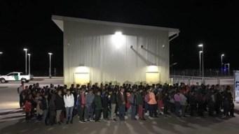 Interceptan grupo de casi 200 que cruzaba la frontera