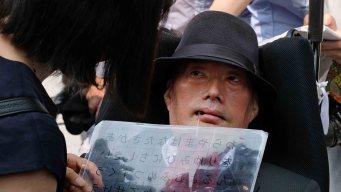 El legislador con una enfermedad incurable que hace historia en Japón