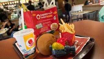 McDonald's pone a dieta a su menú infantil Happy Meal