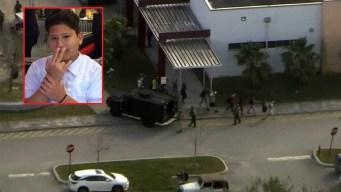 Abuelas mexicanas lloran la muerte del nieto en tiroteo