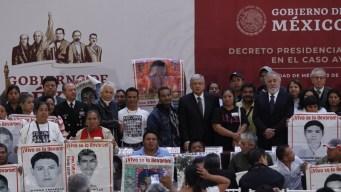 Ayotzinapa: AMLO crea comisión de la verdad
