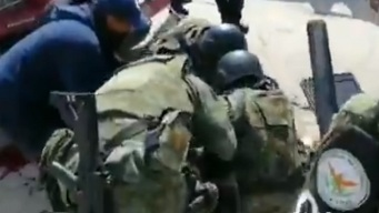 Manifestantes disparan a Guardia Nacional; 3 heridos