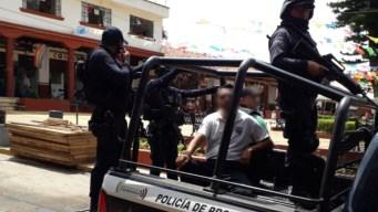 Siete policías, bajo arresto por desaparición forzada