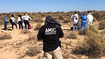 Aumentan a 42 la cifra de restos hallados en Sonora