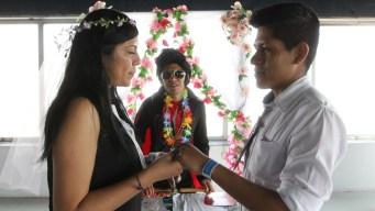 Elvis y Marilyn en mi boda: bodas al estilo Las Vegas