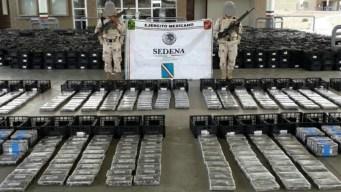 Aseguran 1,770 libras de cocaína oculta entre aguacates