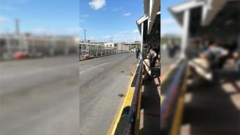 """Reabren el """"Puente Nuevo"""" tras protesta de migrantes"""