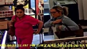 Buscan a sospechosas de robar maquillaje en Southlake