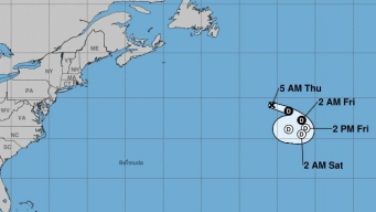La tormenta Chantal sigue perdiendo fuerza y velocidad