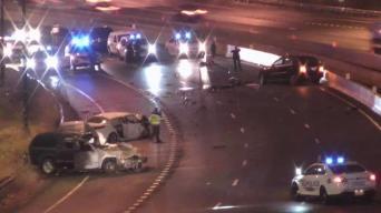 Un muerto tras choque frontal en la I-45 en Dallas
