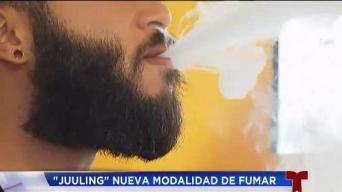 Juuling: la nueva modalidad de fumar
