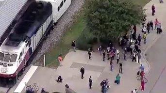 Haltom City: Identifican a hombre atropellado por tren