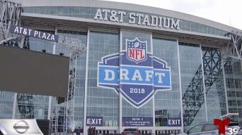 Últimos preparativos para NFL draft en Arlington