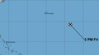 Los restos de la tormenta Karen se disipan en el Atlántico