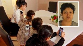 """Futuro incierto para hijas de viral """"Lady Frijoles"""" en Dallas"""
